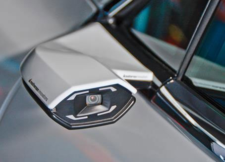 Digital exterior mirrors